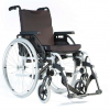 Breezy Basix Aluminium Wheelchair with Jay Cushion