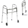 2-in-1 Walking Frame w 2 Front Castors